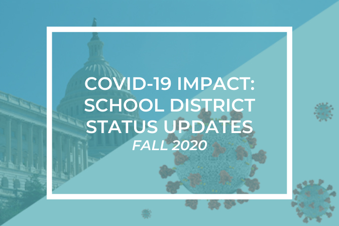 COVID-19 Impact: School District Status Updates