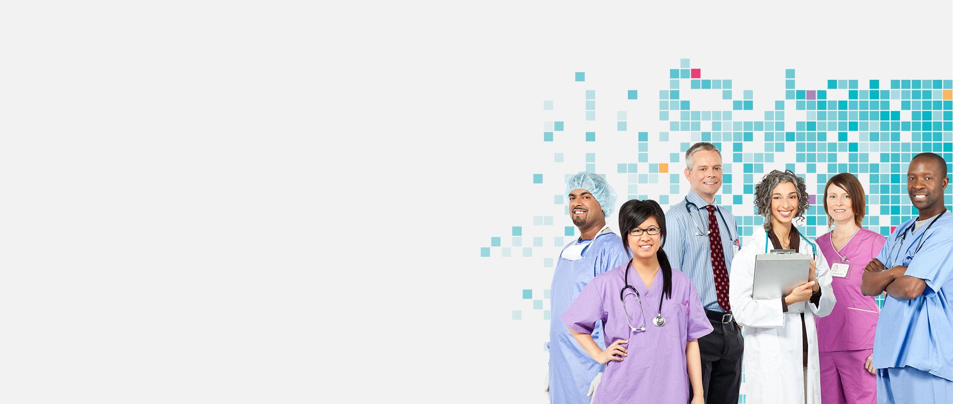 Hospitals background image